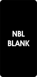 """NBL-BLANK"", Blank-Black"