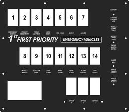 FAC-02083, 1st Priority Emergency Vehicles