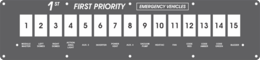 FAC-02429, 1st Priority Emergency Vehicles