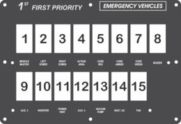 FAC-02430, 1st Priority Emergency Vehicles