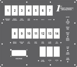 FAC-02490, 1st Priority Emergency Vehicles