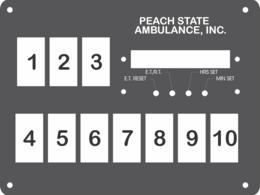 FAC-02585, Peach State Ambulance, Inc.