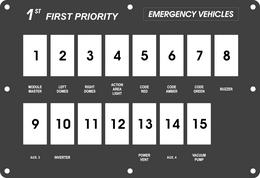 FAC-01830, 1st Priority Emergency Vehicles