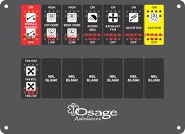 Osage Type 2 Dash Switch