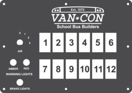 FAC-02420, Van Con School Bus Builders