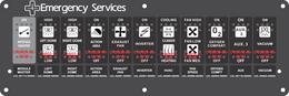 Ambulance Module Switch w/ 01003